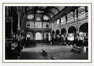Photo: Interior of Bank of Madras