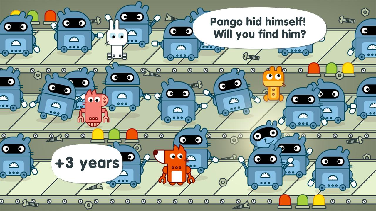 Pango Hide and seek- screenshot
