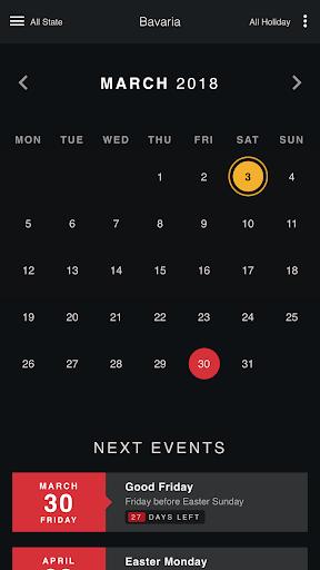 Germany Holiday Calendar 1.6 Screenshots 1