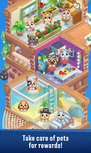 Pet Rescue Puzzle Saga  screenshots 4