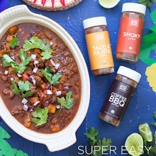 Super Easy Paleo Chili Recipe (Instant Pot) with Balanced Bites Spices