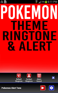 Pokemon Ringtone and Alert screenshot 1
