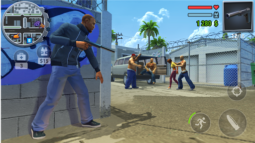 Gangs Town Story - action open-world shooter screenshot 1