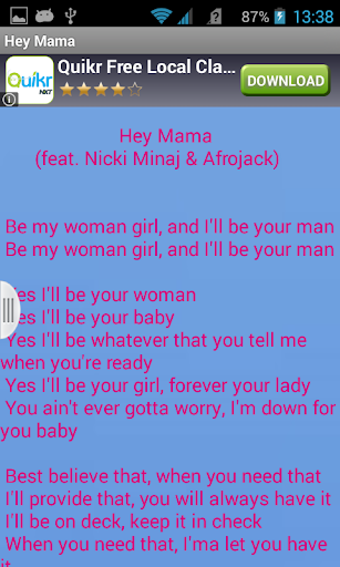 Download David Guetta Hey Mama Lyrics Google Play softwares