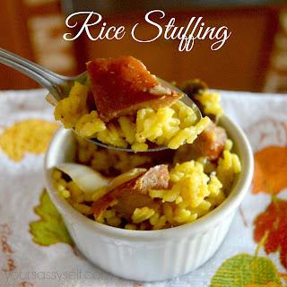 Rice Stuffing Recipe
