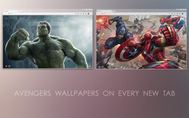Marvel Avengers New Tab
