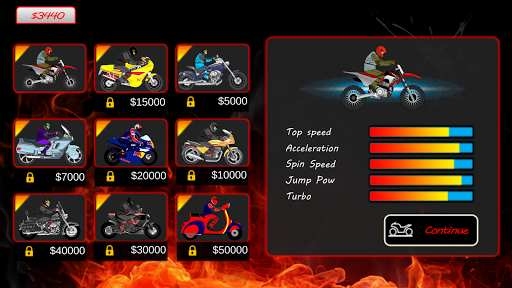 Super Bikes Racing Competition