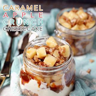 Caramel Apple Crunch Cheesecake Recipe