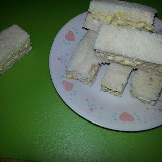 Egg Salad Finger Sandwiches