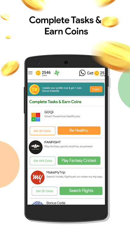 Play Quiz: Get Coins,Wallet Cash,Talktime Recharge