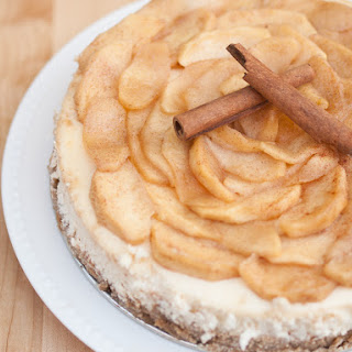Spiced Apple Cheesecake