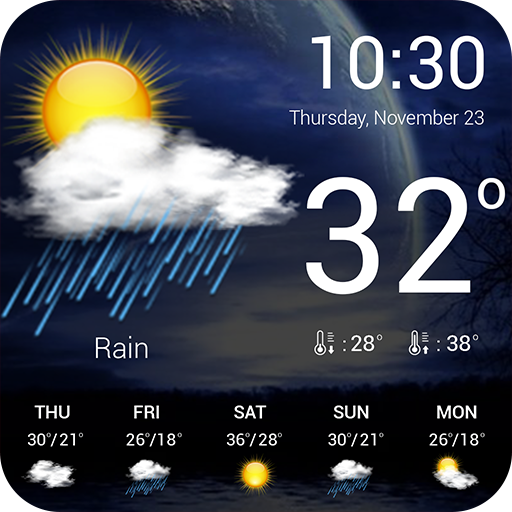 Weather forecast for Android
