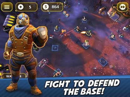 Tower Defense Generals TD Screenshot