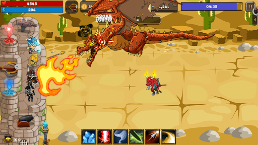 Final Castle Defence : Idle RPG android2mod screenshots 6