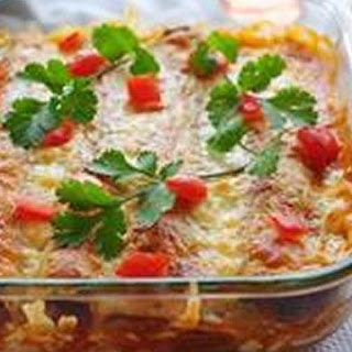 Barbacoa Enchiladas