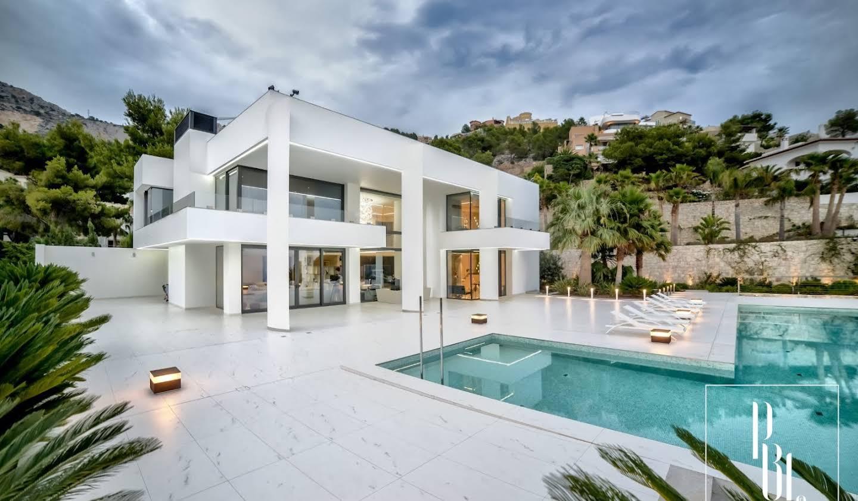 Maison avec piscine et terrasse Altea Hills
