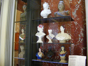 Photo: The Room of the Mariannes contains a collection of this French national symbol.