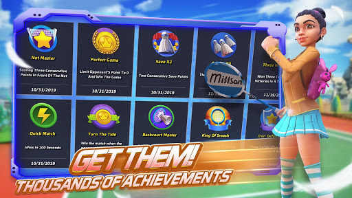 Badminton Blitz - 3D Multiplayer Sports Game apkdebit screenshots 14