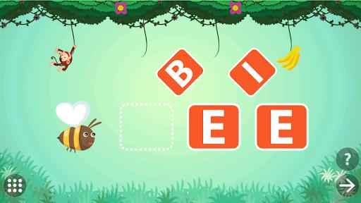 kindergarten kids learn rhyming & sight word games screenshot 1