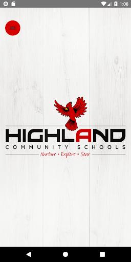 Highland Community Schools 1.3.1 screenshots 1