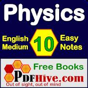 Physics 10 Notes English Medium