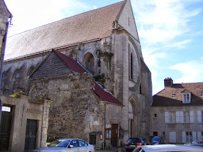 Photo: The oldest (from 1168) church in Senlis, the Eglise St Frambourg, is now a concert venue.