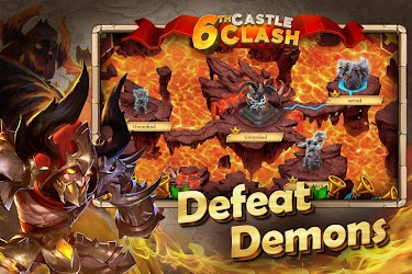 دانلود Castle Clash: Heroes of the Empire US