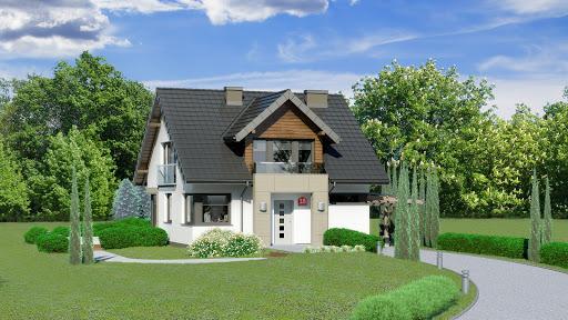 projekt Dom przy Wiosennej 18