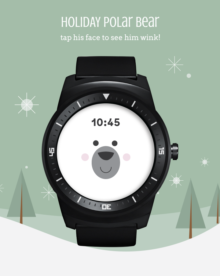 Holiday Watch Faces- screenshot