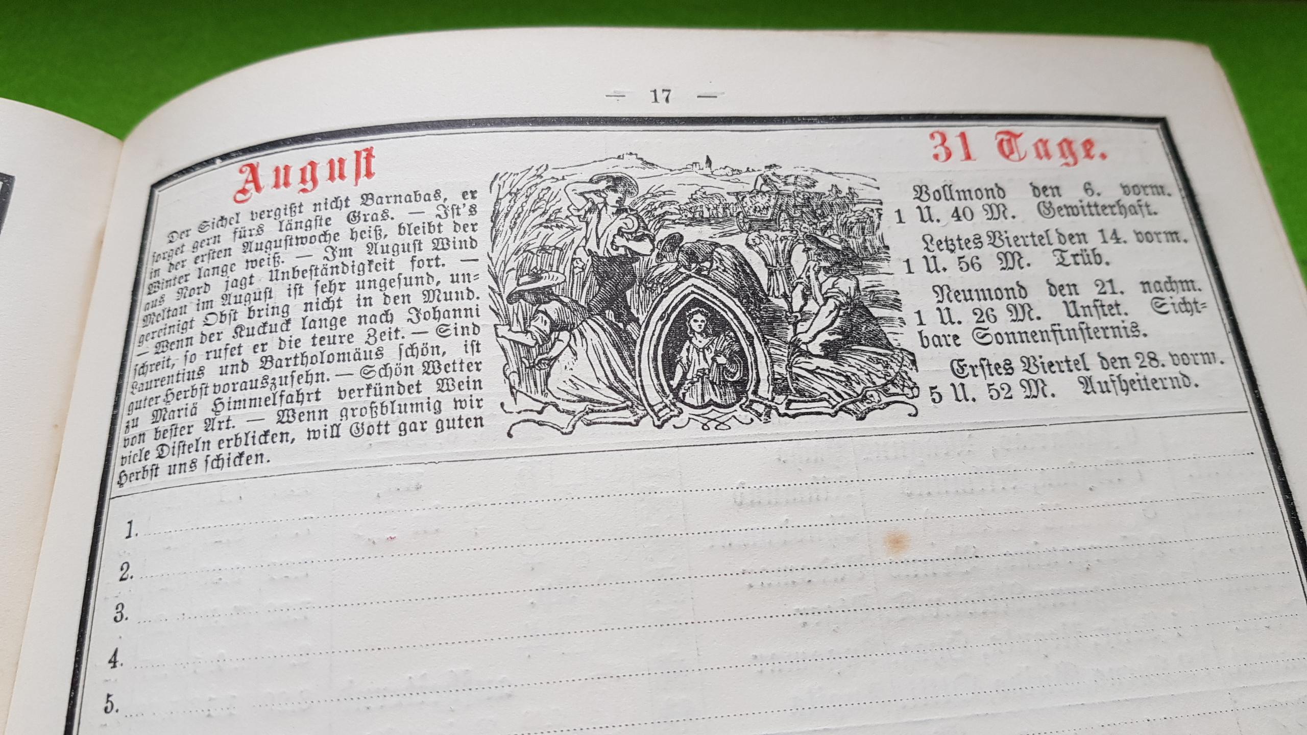 Großer Volkskalender des Lahrer hinkenden Boten - 1914
