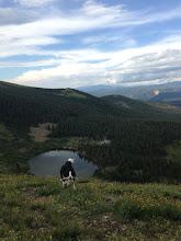 Photo: Above Goose Lake