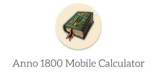 Super simple and lightweight Anno 1800 Goods Calculator for Android.