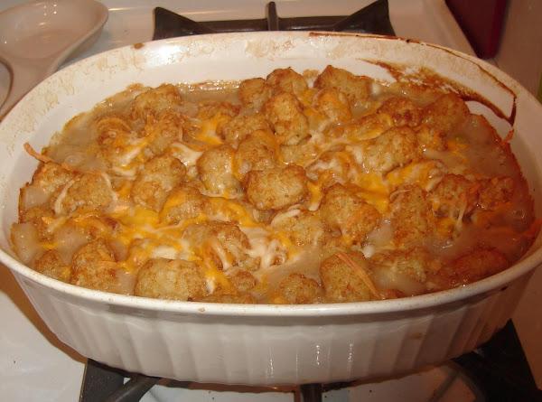 Too Hot To Tot!  Tater Tot Hot Dish Recipe
