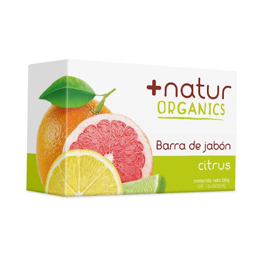 jabon en barra natur ams citrus 100gr