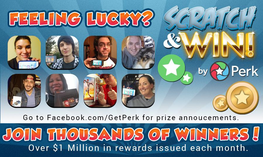 Perk Scratch & Win!- screenshot