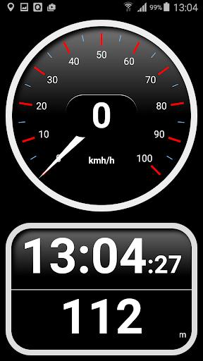 Tachometer km h mit HUD