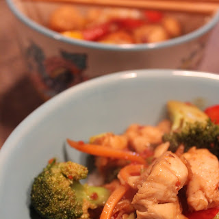 Teriyaki Chicken Veggie Stir-fry