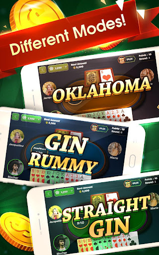 Gin Rummy Offline 7.4 screenshots 1
