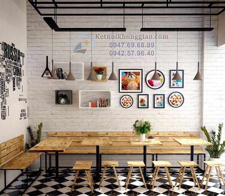 thiết kế quán cafe đơn giản tại hà nội