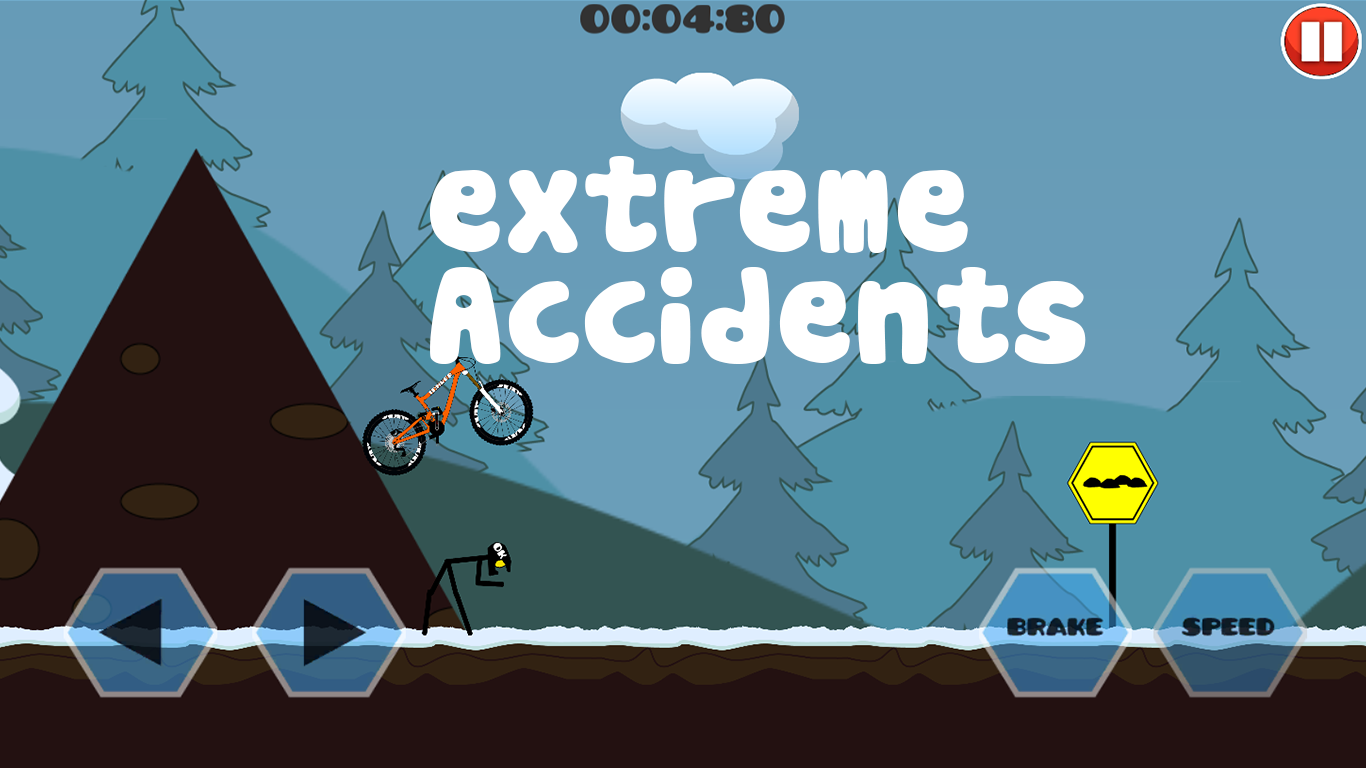 Mountain Bicycle Simulator 2D- screenshot