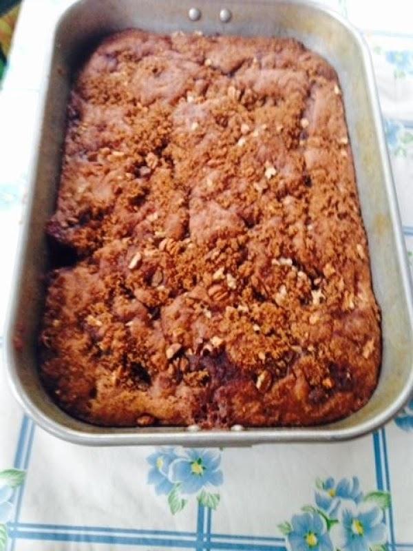 Tina's Rhubarb Cake Recipe