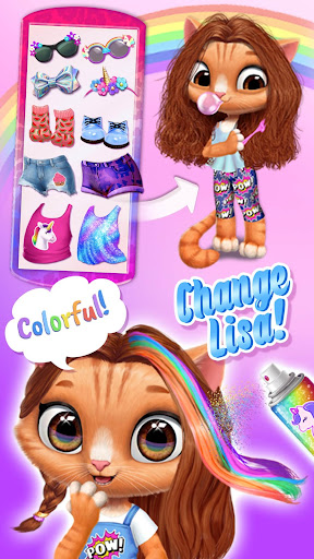 Amy's Animal Hair Salon - Fluffy Cats Makeovers 2.0.17 {cheat|hack|gameplay|apk mod|resources generator} 5