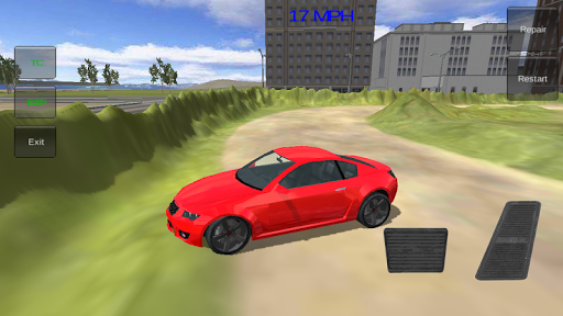 Monster offroad Stunt Car