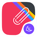 Colorful point Line theme icon