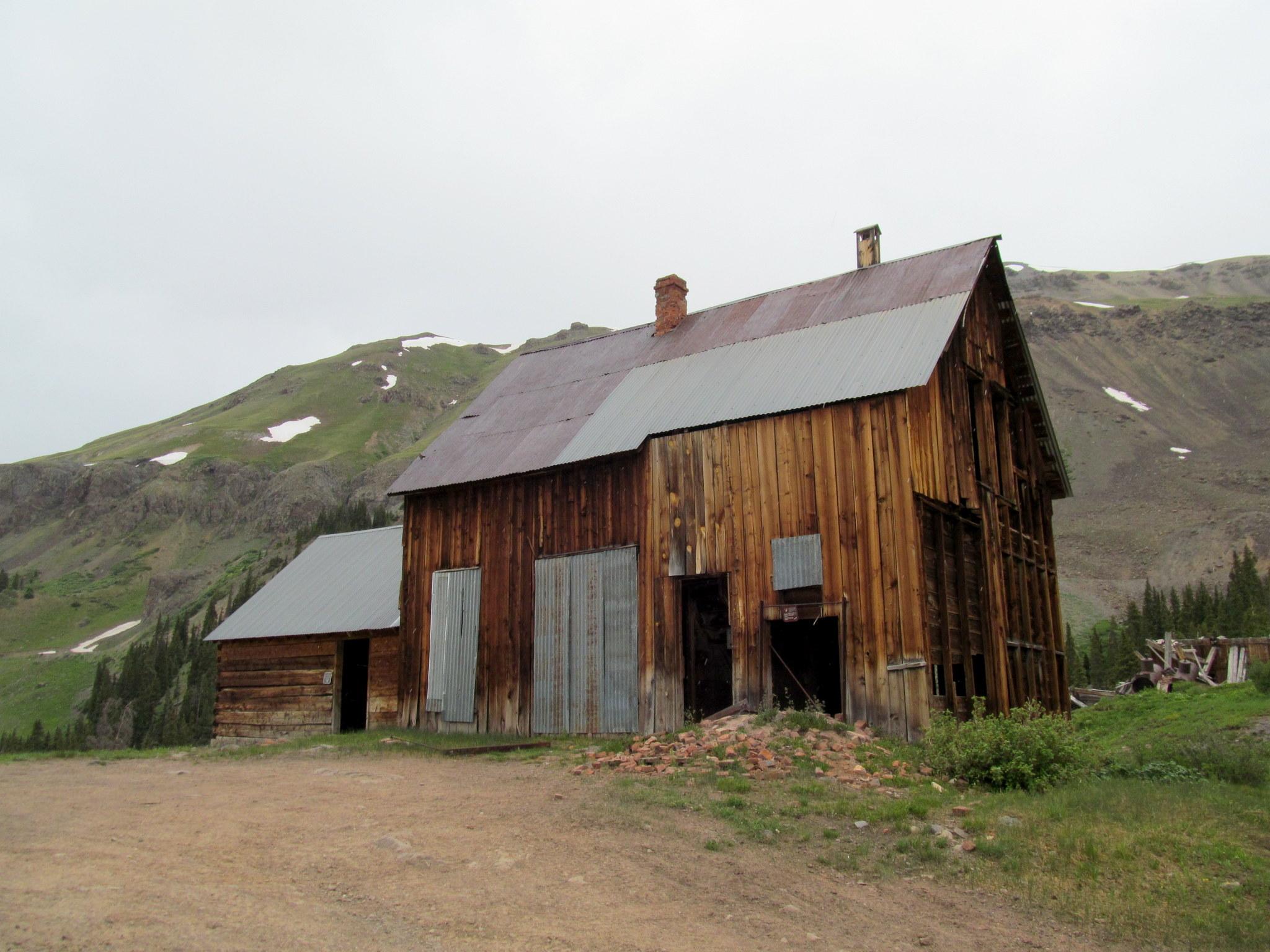 Photo: San Juan Chief mill building