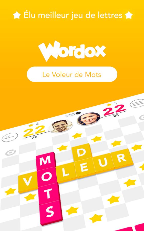 wordox le voleur de mots applications android sur google play. Black Bedroom Furniture Sets. Home Design Ideas