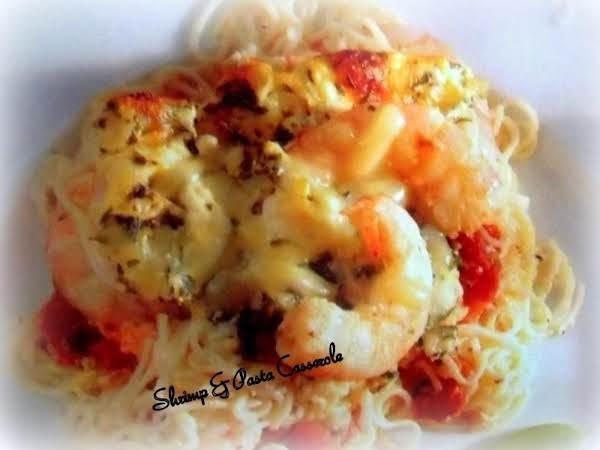 Shrimp & Pasta Casserole Recipe