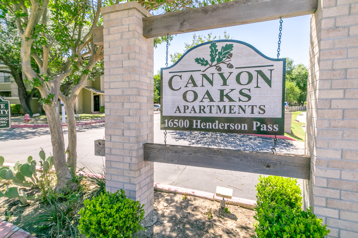 Canyon Oaks Apartments San Antonio