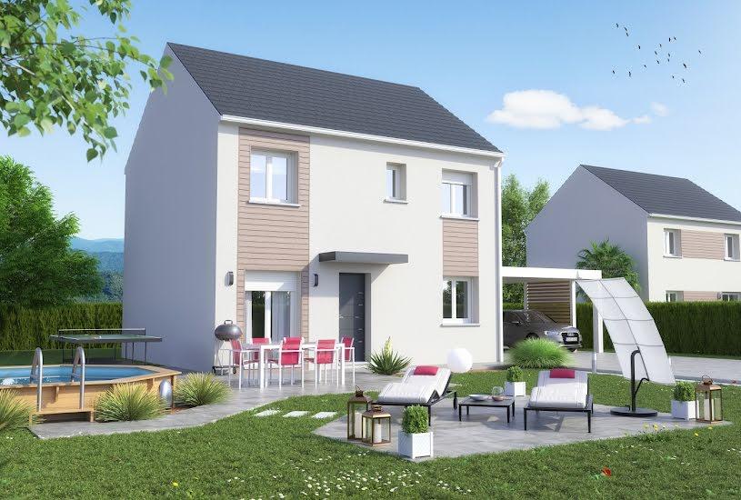 Vente Terrain + Maison - Terrain : 372m² - Maison : 100m² à Vaux-le-Pénil (77000)