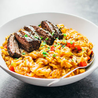 Orzo Pasta And Steak Recipes.